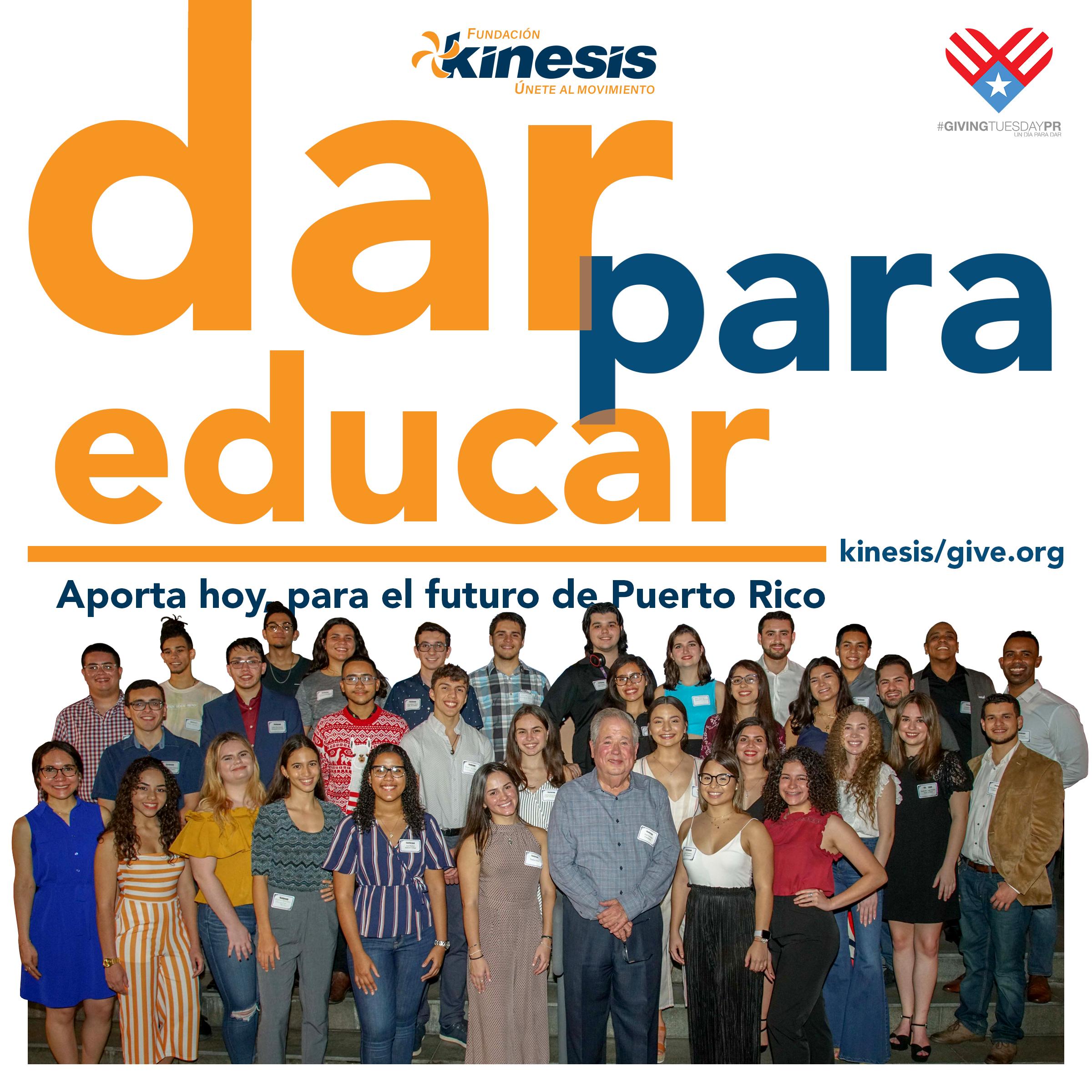 Dar para Educar, una iniciativa del movimiento Giving Tuesday en beneficio del fondo de becas Bright Stars