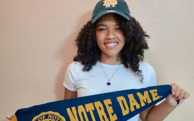 Joven Bright Star es Aceptada en la Universidad de Notre Dame
